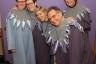 TK100 - groep duiven net aangekleed